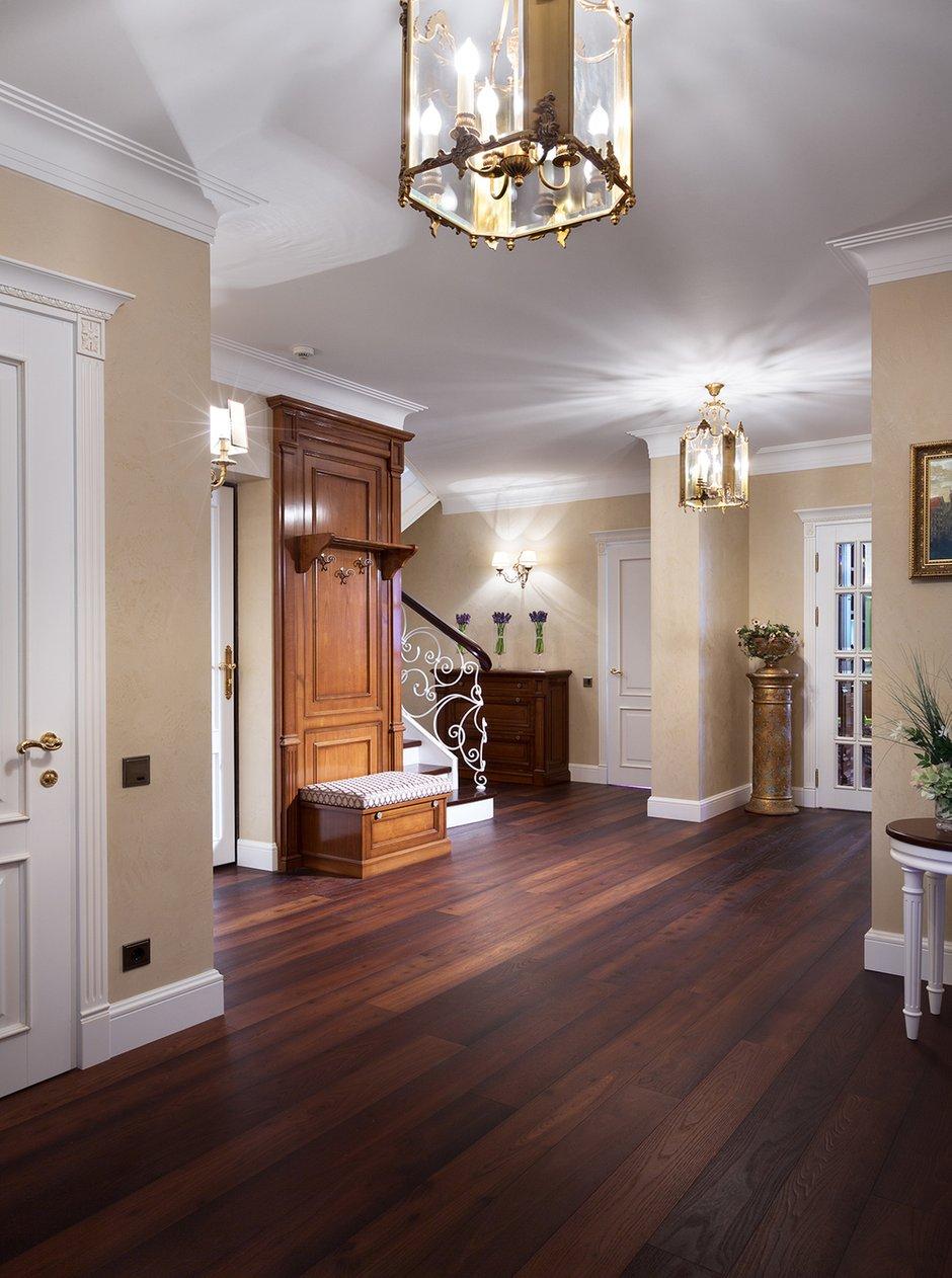 Фотография: Прихожая в стиле Классический, Квартира, Дома и квартиры, Пентхаус – фото на INMYROOM