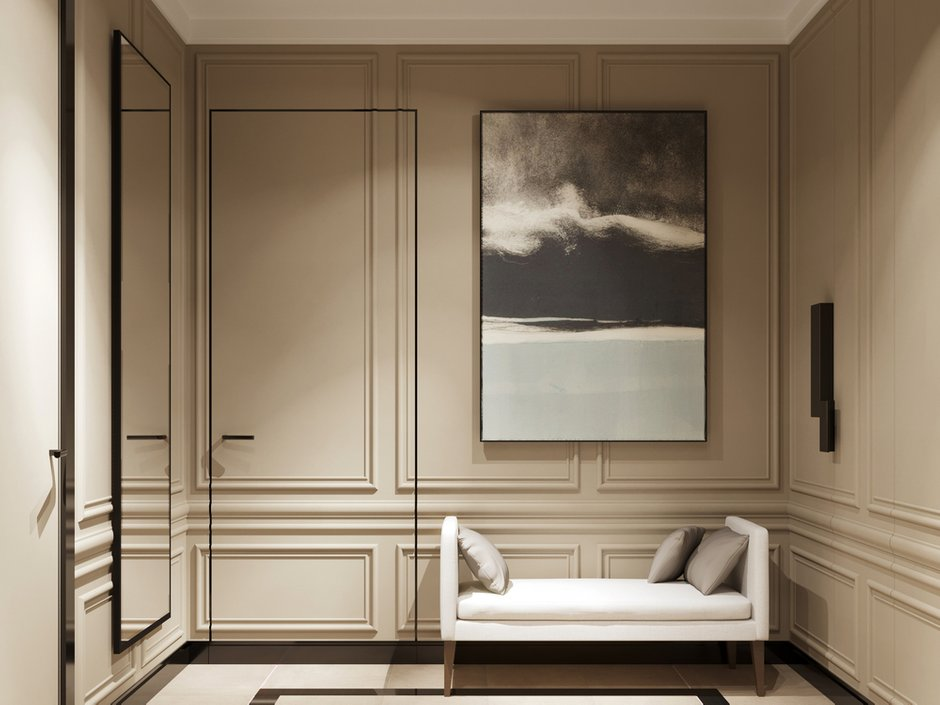 Фотография: Прихожая в стиле Современный, Квартира, Проект недели, Монолитный дом, 2 комнаты, 40-60 метров, ЖК «Маяк» – фото на INMYROOM