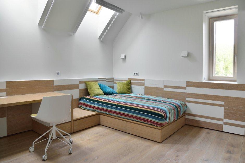 Фотография: Спальня в стиле Современный, Дом, Дома и квартиры, Минимализм, Проект недели, Перепланировка – фото на INMYROOM