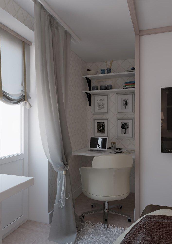 Фотография: Спальня в стиле Скандинавский, Квартира, BoConcept, Дома и квартиры, Проект недели – фото на INMYROOM