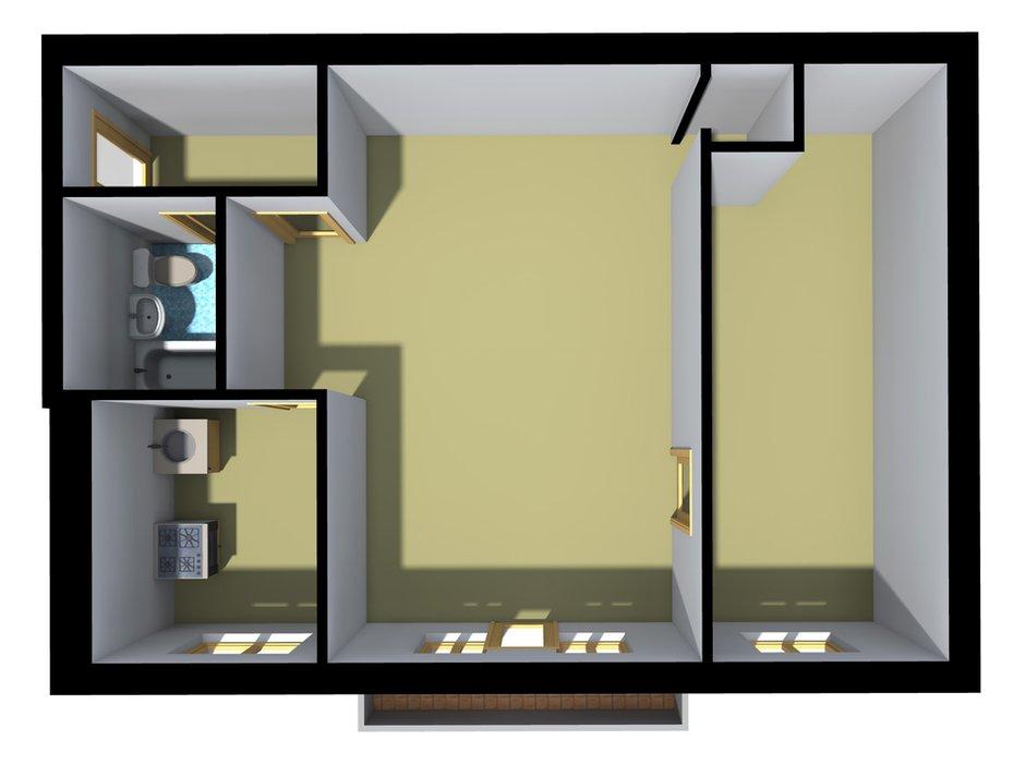 Фотография: Прочее в стиле , Квартира, Дома и квартиры, Перепланировка, Хрущевка – фото на INMYROOM