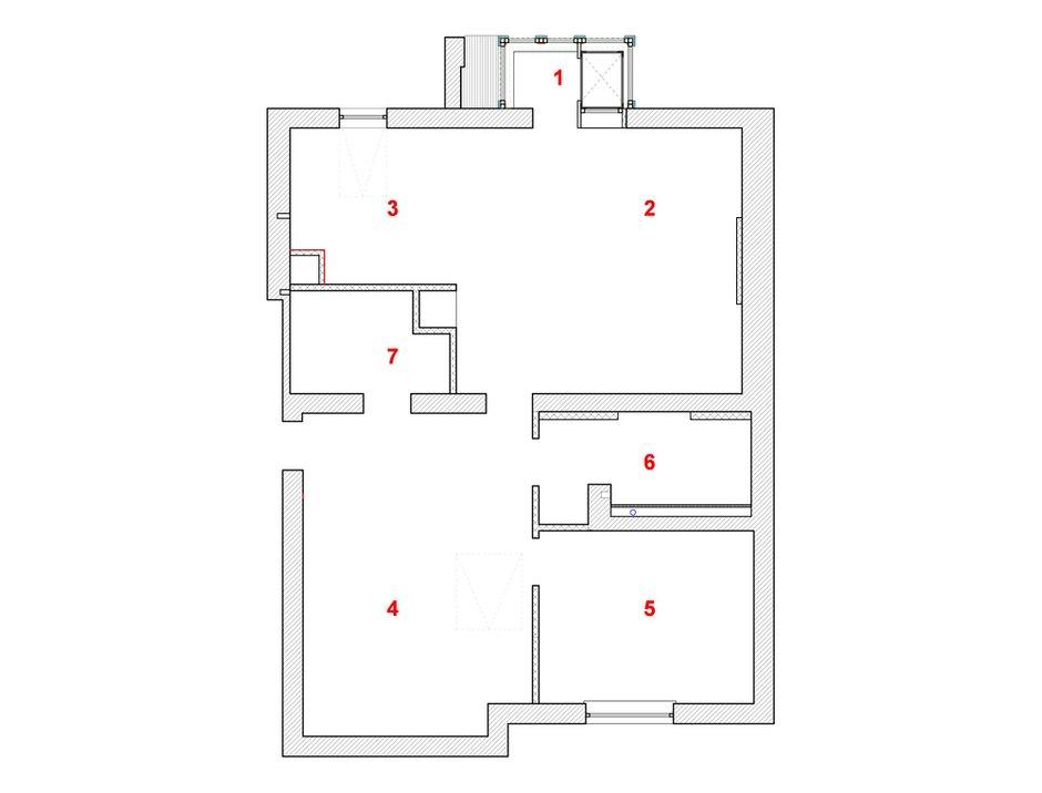 Фотография: Планировки в стиле , Квартира, Дома и квартиры – фото на INMYROOM