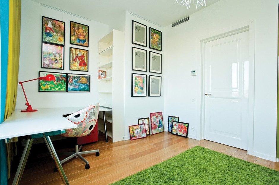 Фотография: Детская в стиле Современный, Скандинавский, Квартира, Дома и квартиры, Проект недели – фото на INMYROOM