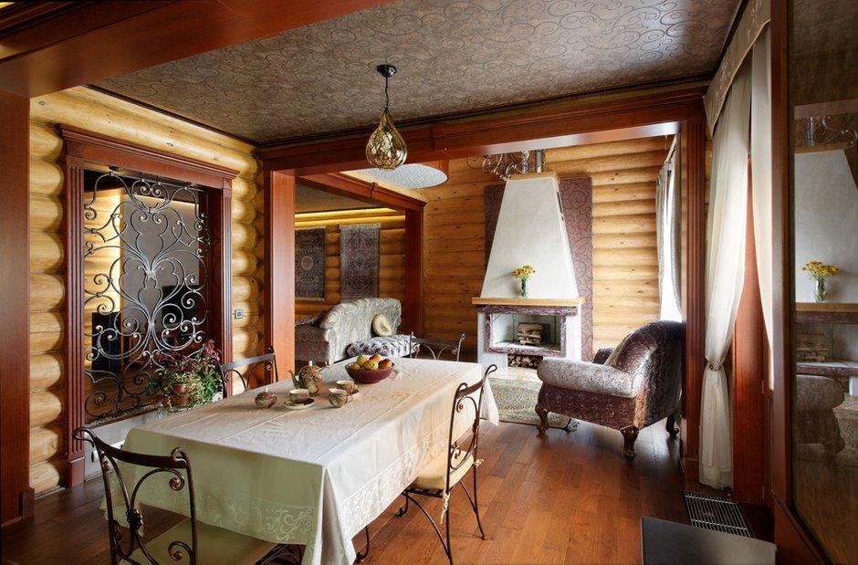 Фотография: Кухня и столовая в стиле Прованс и Кантри, Дом, Дома и квартиры, Проект недели, Дача – фото на INMYROOM
