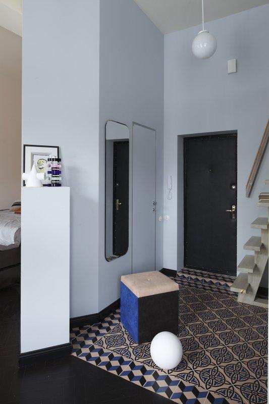 Фотография: Прихожая в стиле Современный, Малогабаритная квартира, Квартира, Студия, Дома и квартиры, Проект недели – фото на INMYROOM