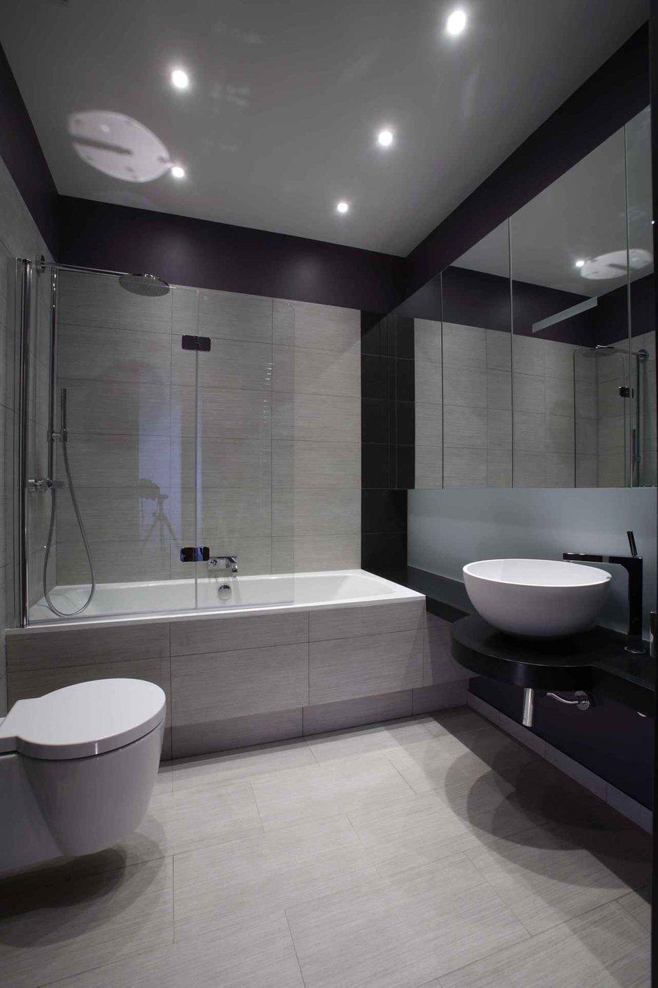 Фотография: Ванная в стиле Лофт, Современный, Квартира, Дома и квартиры – фото на InMyRoom.ru