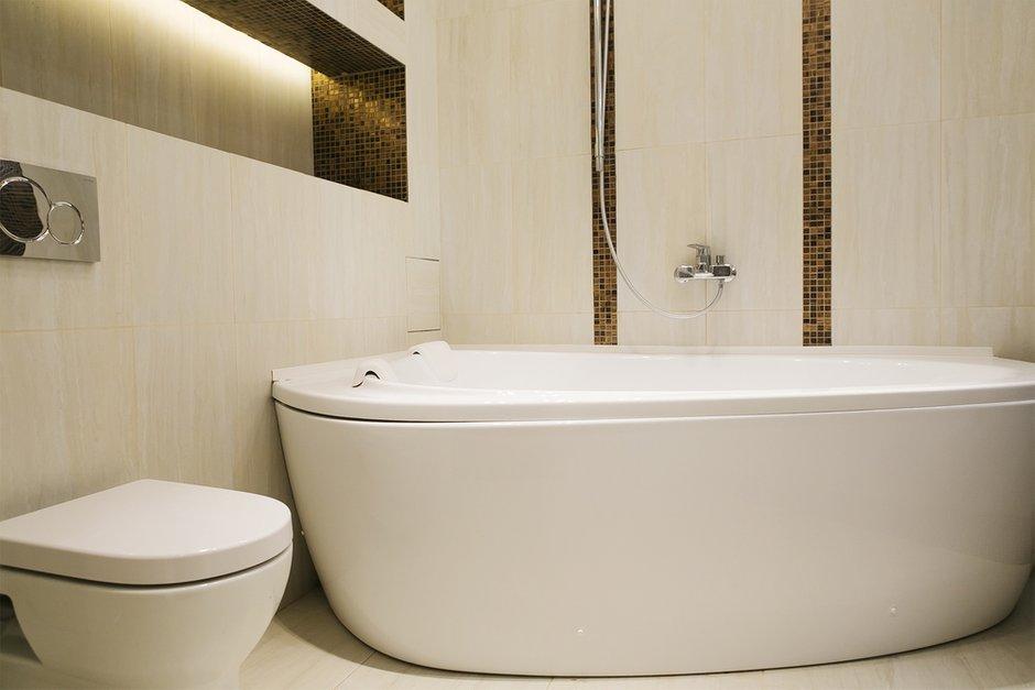 Фотография: Ванная в стиле Современный, Классический, Квартира, Дома и квартиры, Проект недели – фото на INMYROOM