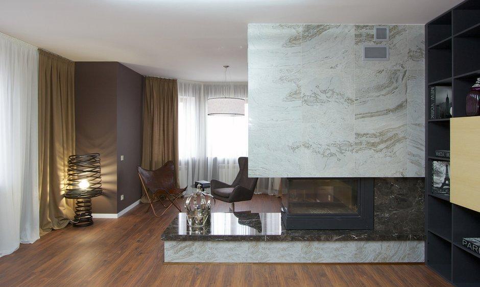 Фотография: Гостиная в стиле Современный, Дом, Планировки, Мебель и свет, Дома и квартиры, Мансарда – фото на INMYROOM