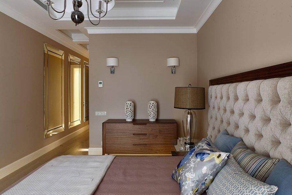 Фотография: Спальня в стиле Современный, Квартира, Проект недели, Москва, Никита Морозов, KM Studio, новостройка, Монолитный дом, 3 комнаты, Более 90 метров – фото на INMYROOM