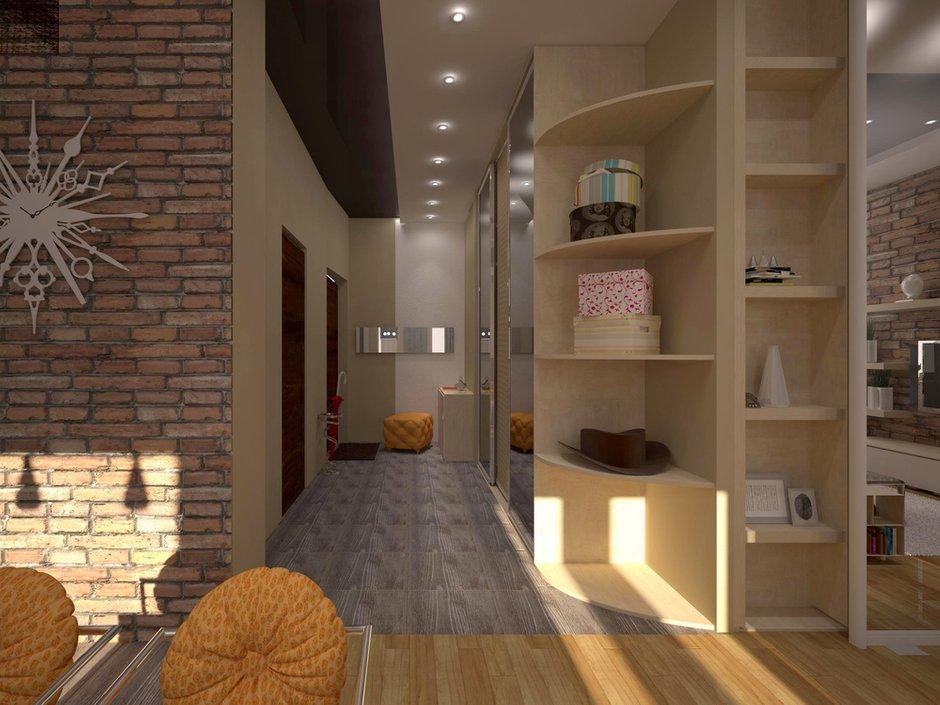 Фотография: Прихожая в стиле Лофт, Квартира, Дома и квартиры, Перепланировка, Москва, Стена, Перегородки – фото на INMYROOM