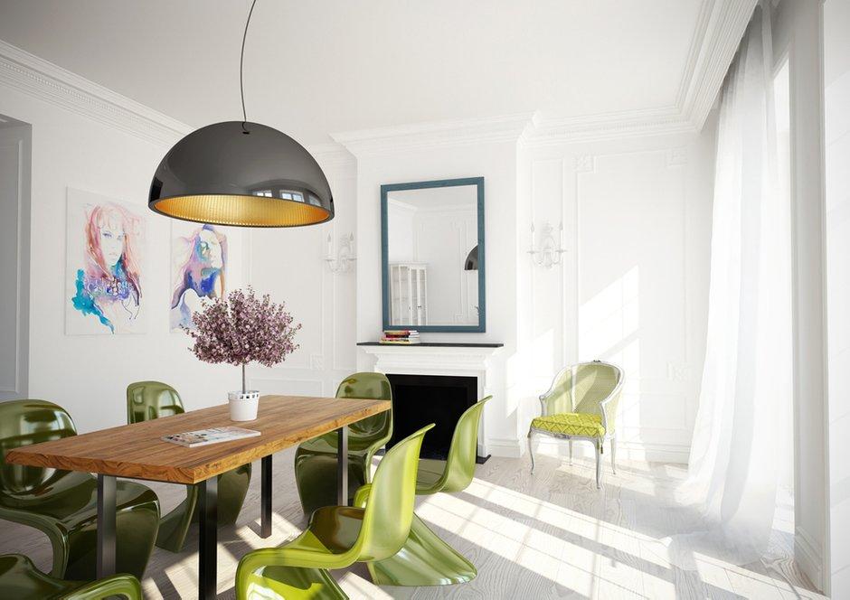 Фотография: Кухня и столовая в стиле Скандинавский, Современный, Декор интерьера, Квартира, Дизайн интерьера, Цвет в интерьере – фото на INMYROOM