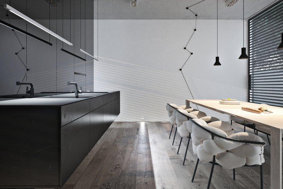 Фотография: Кухня и столовая в стиле Современный, Декор интерьера, Дом, Дома и квартиры, Архитектурные объекты, Проект недели – фото на INMYROOM
