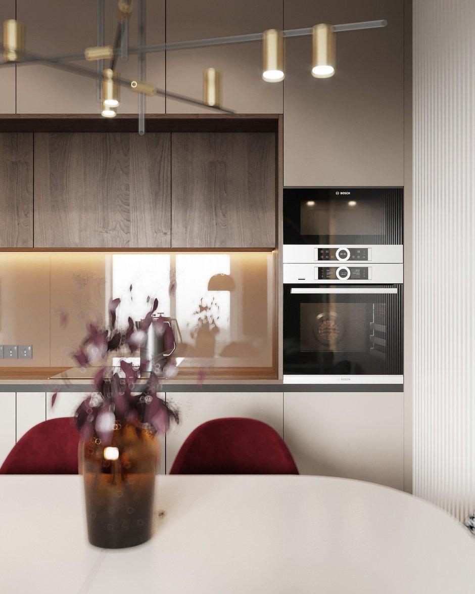 Фотография: Кухня и столовая в стиле Современный, Квартира, Проект недели, Москва, Монолитный дом, 2 комнаты, 40-60 метров, Руслан Просвирин – фото на INMYROOM