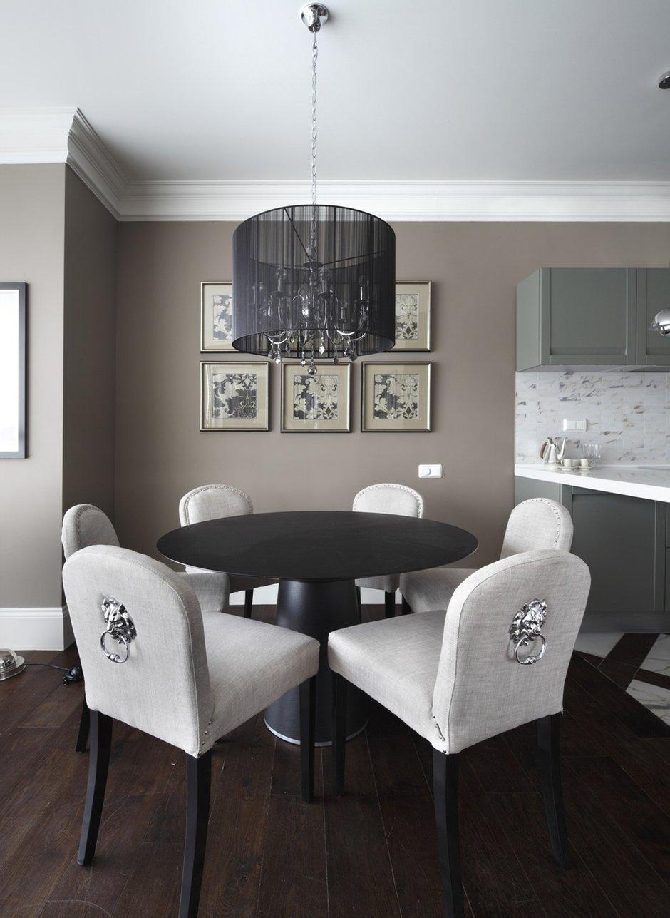 Фотография: Кухня и столовая в стиле Современный, Квартира, Текстиль, Дома и квартиры – фото на INMYROOM