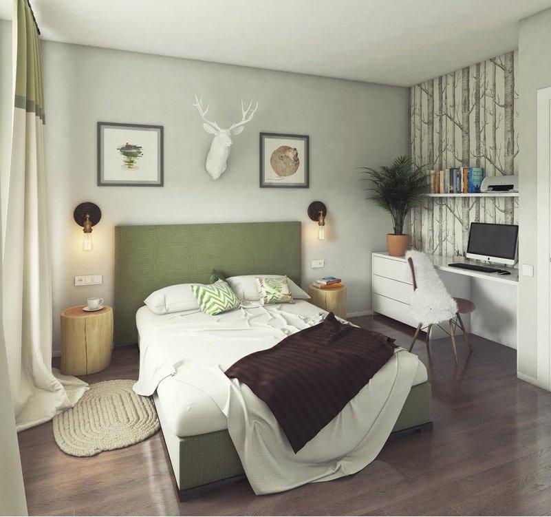 Фотография:  в стиле , Спальня, Карта покупок – фото на InMyRoom.ru