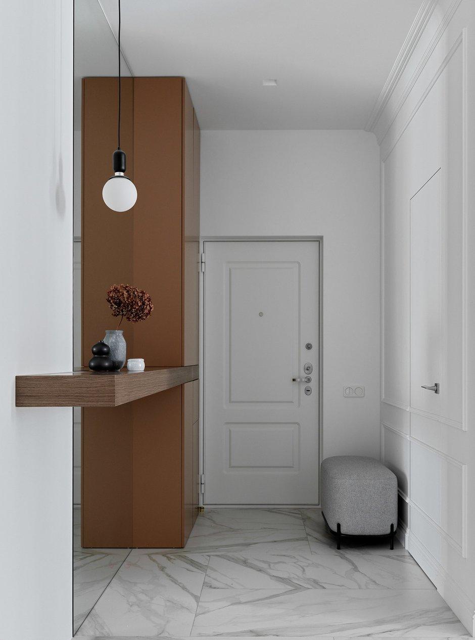 Фотография: Прихожая в стиле Современный, Квартира, Минимализм, Проект недели, Москва, 2 комнаты, 60-90 метров, Elements – фото на INMYROOM