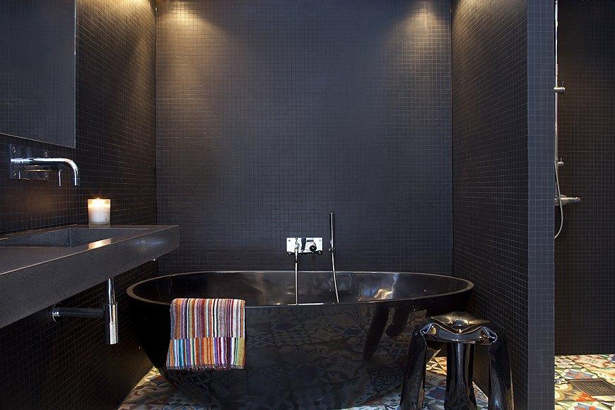 Фотография: Ванная в стиле Современный, Эклектика, Скандинавский, Квартира, Дома и квартиры, Стокгольм – фото на INMYROOM