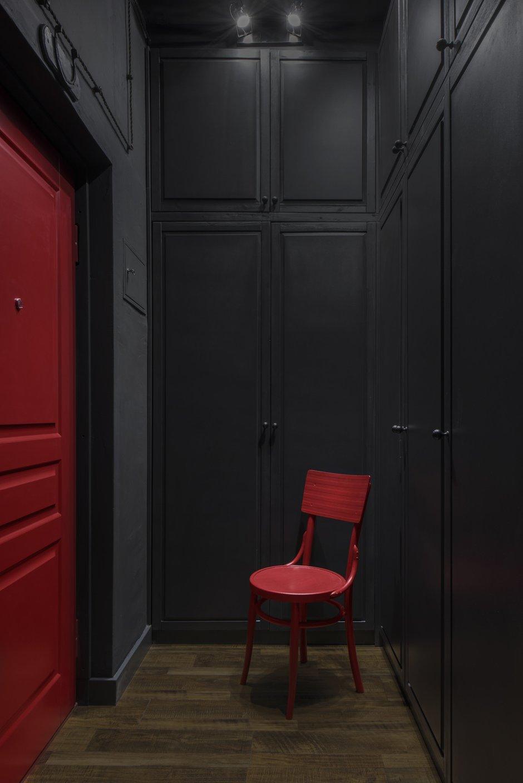 Фотография: Прихожая в стиле Эклектика, Квартира, Проект недели, Москва, 1 комната, 2 комнаты, до 40 метров, 40-60 метров, Наталия Турченко – фото на INMYROOM