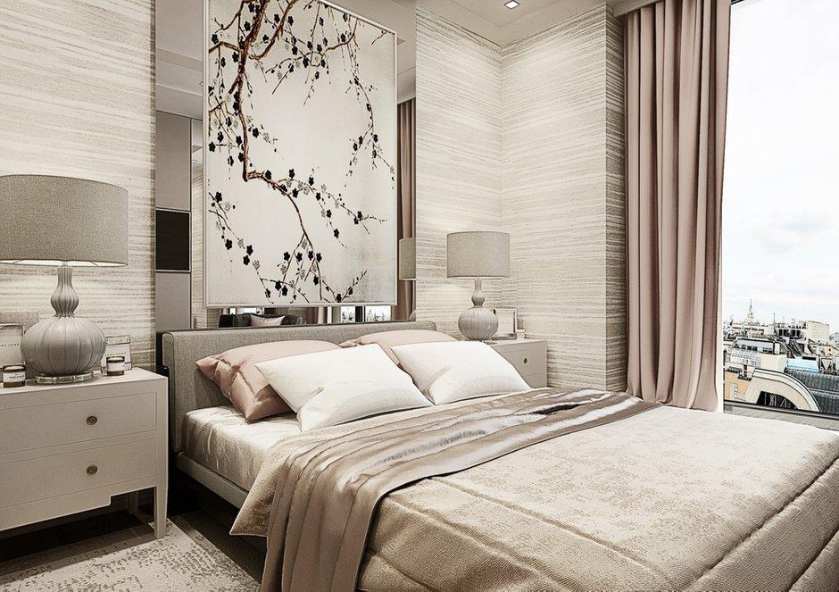 Фотография: Спальня в стиле Современный, Квартира, Проект недели, Москва, Beindesign, ЖК «Резиденция Монэ» – фото на INMYROOM