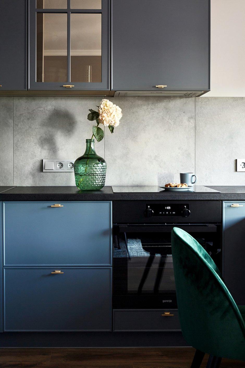 Фотография: Кухня и столовая в стиле Современный, Малогабаритная квартира, Квартира, Студия, Проект недели, Москва, до 40 метров, Мария Григорьева – фото на INMYROOM