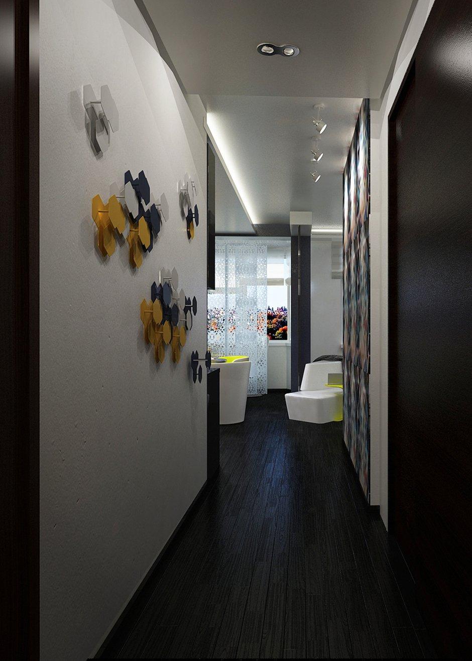 Фотография: Прихожая в стиле Современный, Квартира, BoConcept, Дома и квартиры, IKEA, Москва, Dulux – фото на INMYROOM