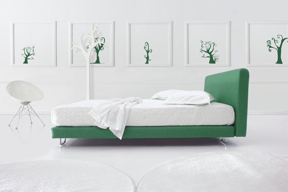 Фотография: Спальня в стиле Современный, Декор интерьера, Квартира, Дизайн интерьера, Цвет в интерьере – фото на INMYROOM