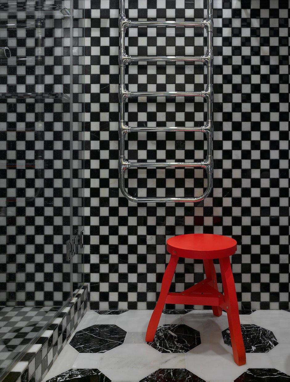 Фотография: Ванная в стиле Современный, Квартира, Проект недели, Москва, 4 и больше, Более 90 метров, Монолитно-кирпичный, Марина Жукова – фото на INMYROOM