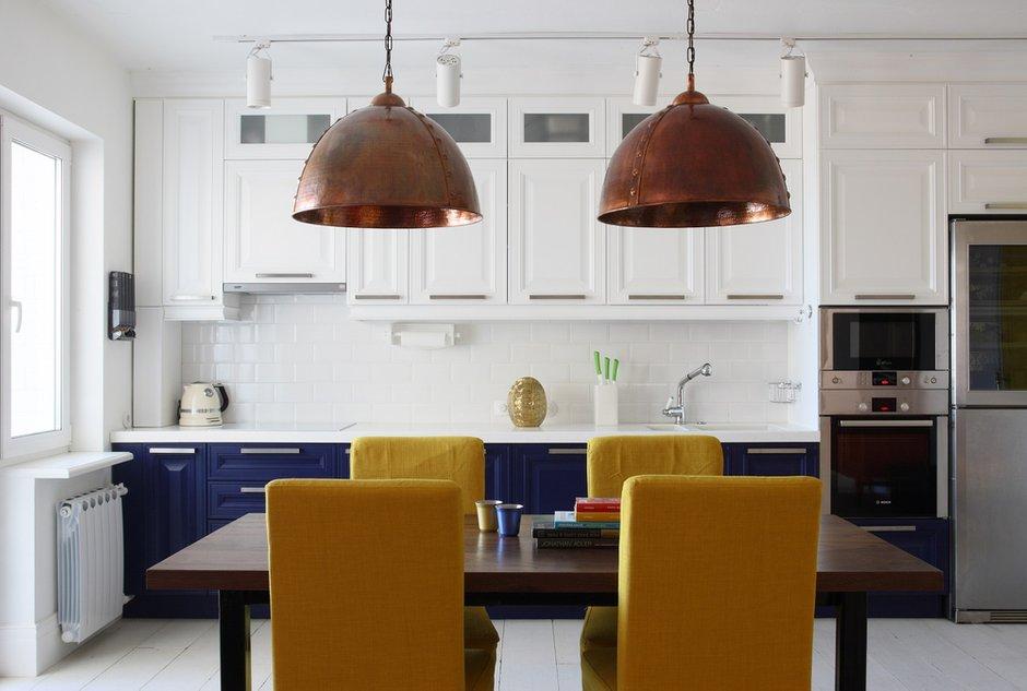 Фотография: Кухня и столовая в стиле Прованс и Кантри, Лофт, Эклектика, Квартира, Проект недели – фото на INMYROOM