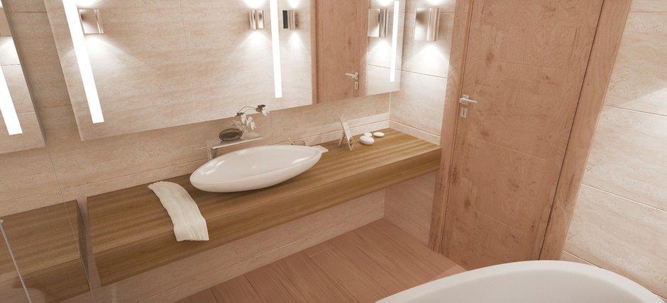 Фотография: Ванная в стиле Современный, Квартира, Дома и квартиры, Проект недели, Мансарда – фото на INMYROOM