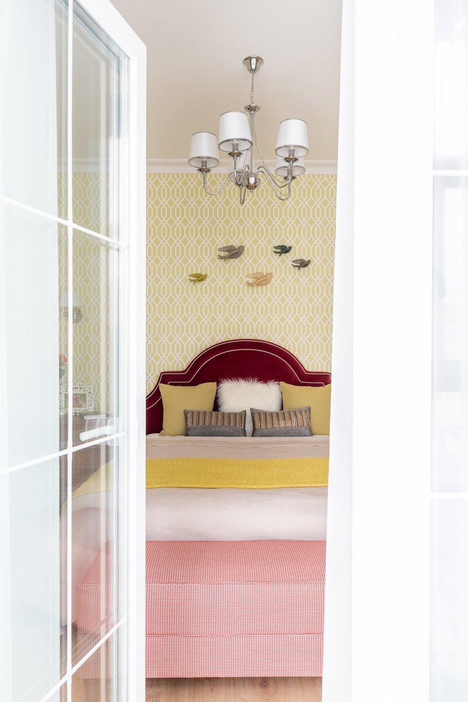 Фотография: Спальня в стиле Классический, Современный, Квартира, Проект недели, Новая Москва, 3 комнаты, Более 90 метров, Наталья Широкорад – фото на INMYROOM