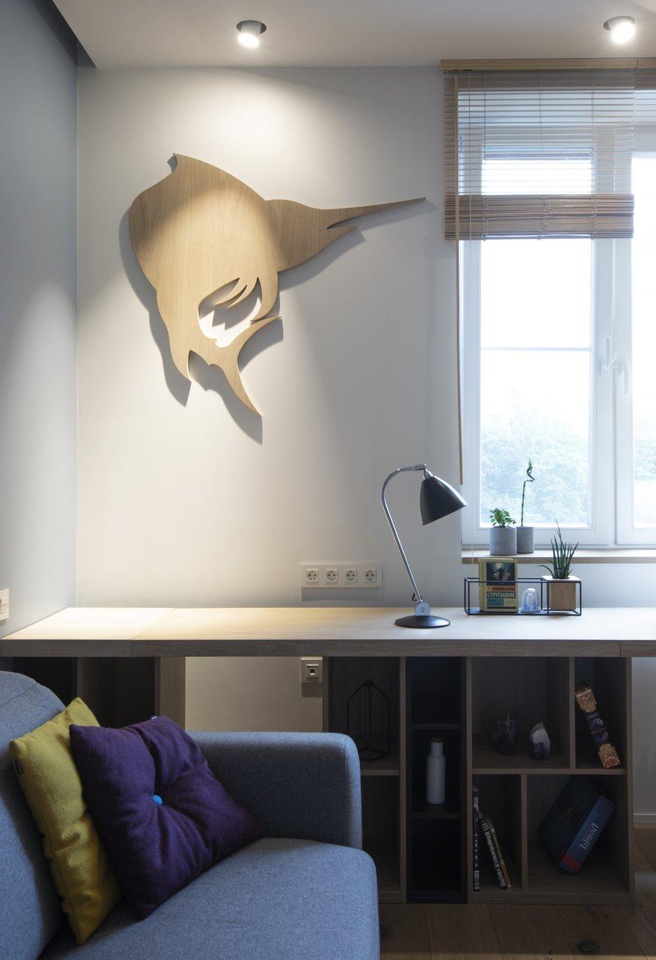 Фотография: Кабинет в стиле Современный, Квартира, Проект недели, Москва, Монолитный дом, 4 и больше, Более 90 метров, Zeworkroomstudio – фото на INMYROOM