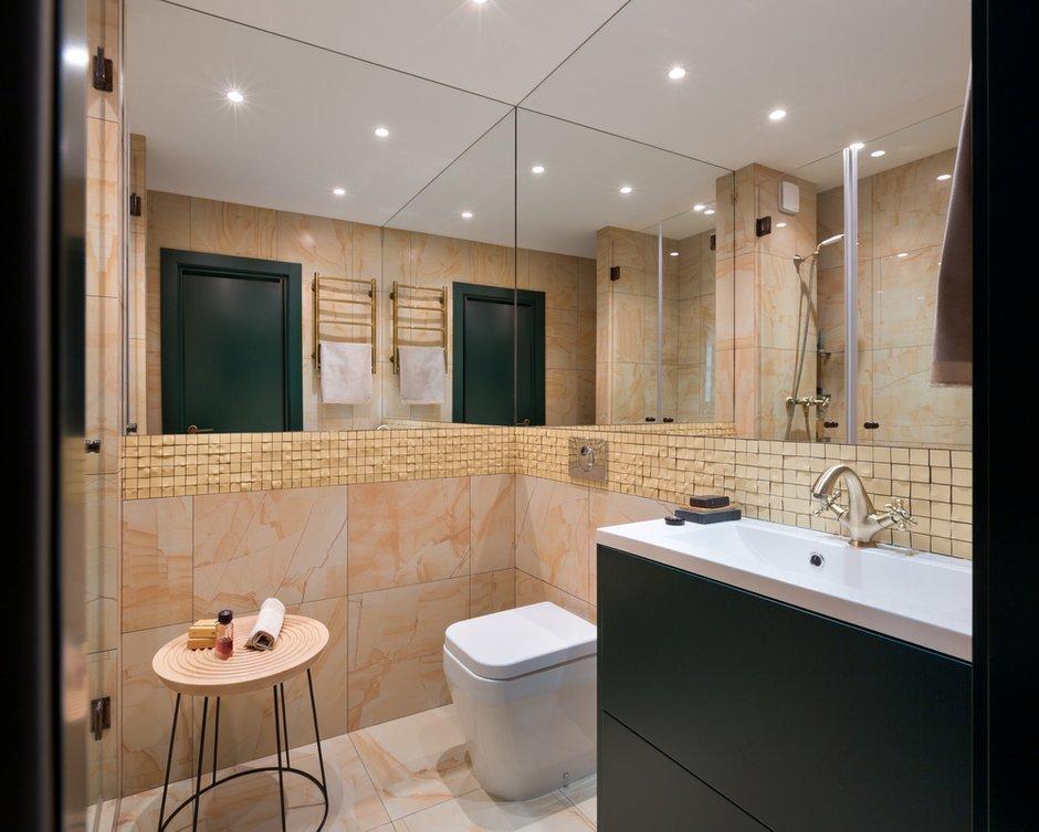 Фотография: Ванная в стиле Современный, Квартира, Проект недели, 2 комнаты, 40-60 метров, Елена Фатеева, Fateeva Design – фото на INMYROOM