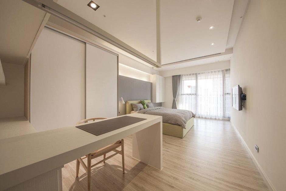 Фотография: Спальня в стиле Скандинавский, Современный, Дом, Дома и квартиры, Проект недели – фото на INMYROOM