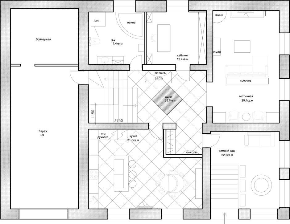 Фотография: Планировки в стиле , Дом, Дома и квартиры, Проект недели – фото на INMYROOM