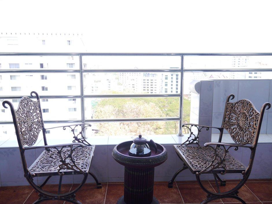 Фотография: Балкон, Терраса в стиле , Квартира, Дома и квартиры – фото на INMYROOM