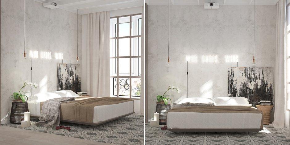 Фотография: Спальня в стиле Классический, Эклектика, Декор интерьера, Квартира, Белый, Проект недели, Бежевый – фото на INMYROOM