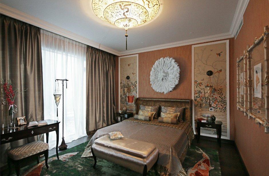 Фотография: Спальня в стиле Восточный, Дизайн интерьера, Проект недели – фото на INMYROOM