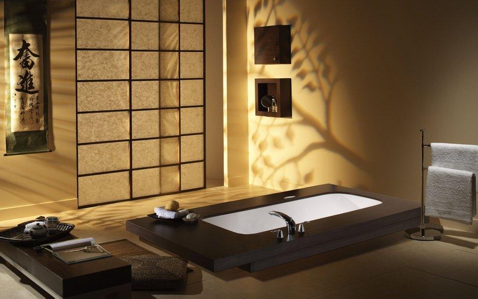 Фотография: Ванная в стиле Современный, Восточный, Декор интерьера, Квартира – фото на InMyRoom.ru