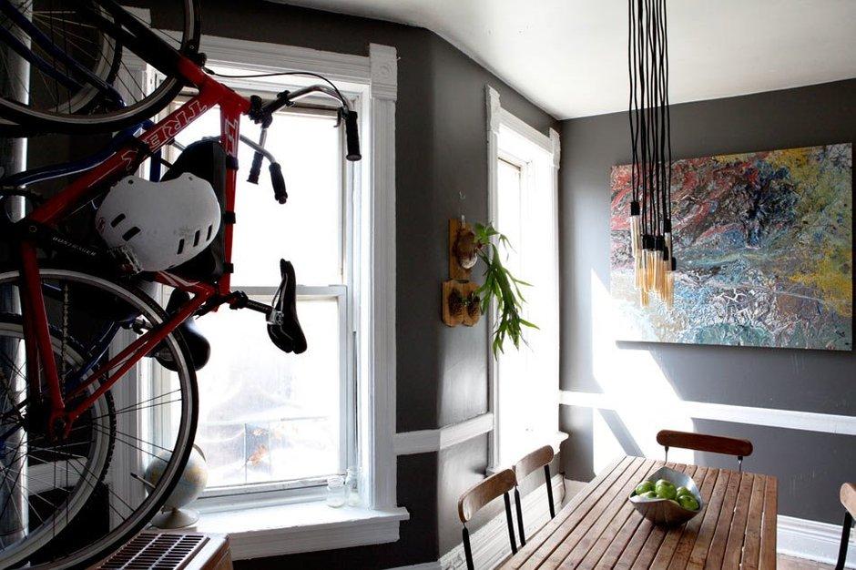 Фотография: Кухня и столовая в стиле Современный, Квартира, США, Дома и квартиры, Библиотека – фото на INMYROOM