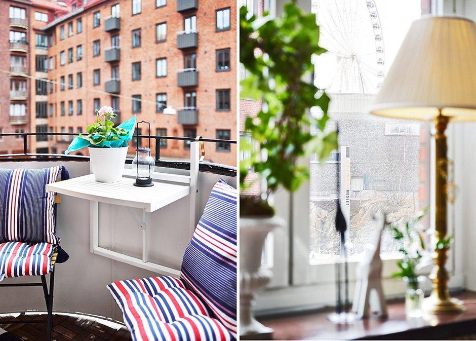 Фотография: Прочее в стиле , Малогабаритная квартира, Квартира, Цвет в интерьере, Дома и квартиры, Белый, Шторы – фото на INMYROOM