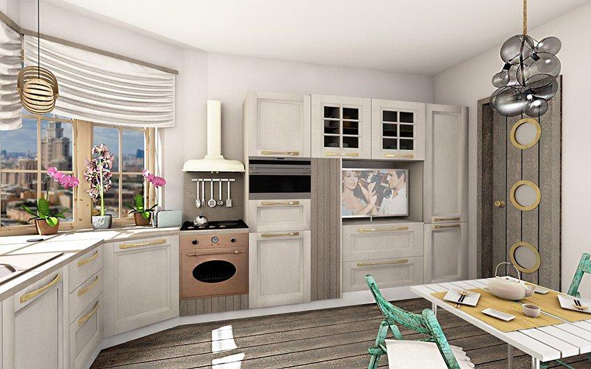 Фотография: Кухня и столовая в стиле Лофт, Проект недели, Москва, Ирина Васильева – фото на INMYROOM