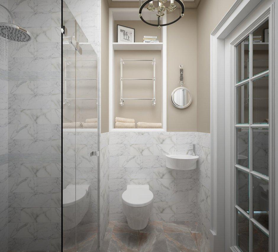 Фотография: Ванная в стиле Классический, Квартира, Проект недели, Санкт-Петербург, Светлана Гаврилова – фото на INMYROOM