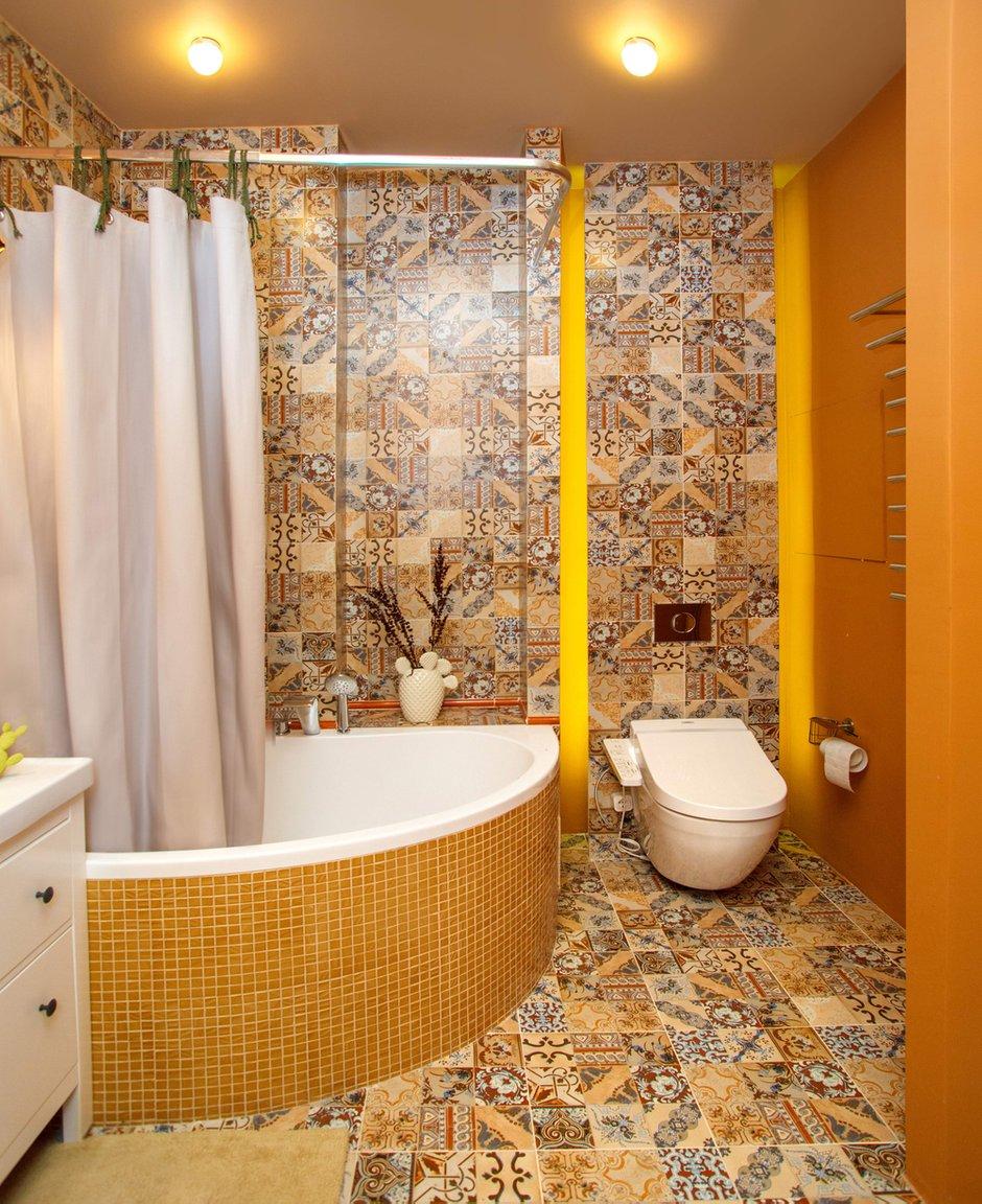 Фотография: Ванная в стиле Современный, Квартира, Проект недели, Химки, Ануш Аракелян, Монолитный дом, ЖК «Правый Берег» – фото на INMYROOM