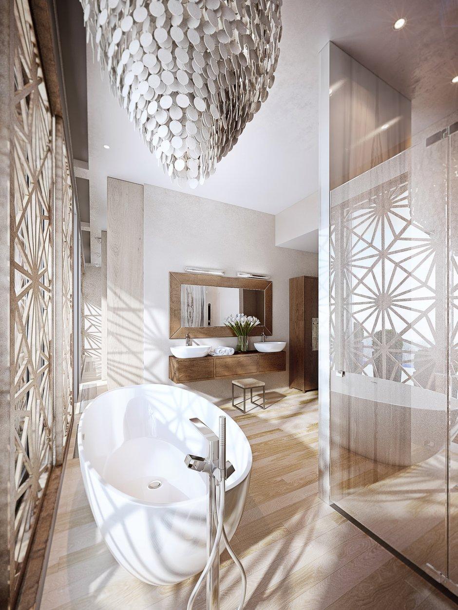 Фотография: Ванная в стиле Современный, Эко,  – фото на INMYROOM