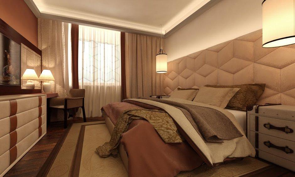 Фотография: Спальня в стиле Современный, Квартира, Дома и квартиры, Проект недели, Москва – фото на INMYROOM