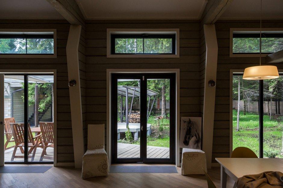 Фотография: Прихожая в стиле , Дом, Дома и квартиры, Проект недели, Дача, dom-iz-brusa – фото на INMYROOM