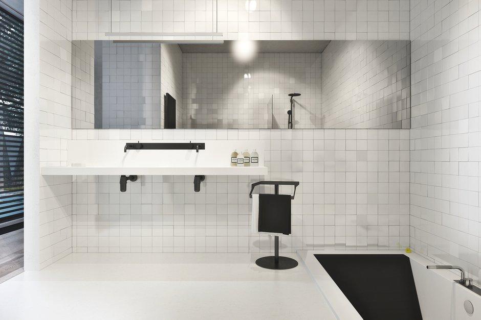 Фотография: Ванная в стиле Современный, Декор интерьера, Дом, Дома и квартиры, Архитектурные объекты, Проект недели – фото на INMYROOM