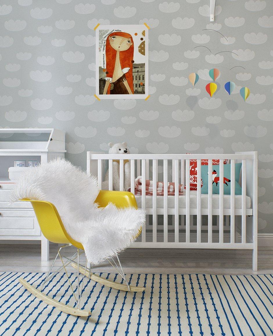 Фотография: Детская в стиле Скандинавский, Квартира, Дома и квартиры, Проект недели – фото на INMYROOM