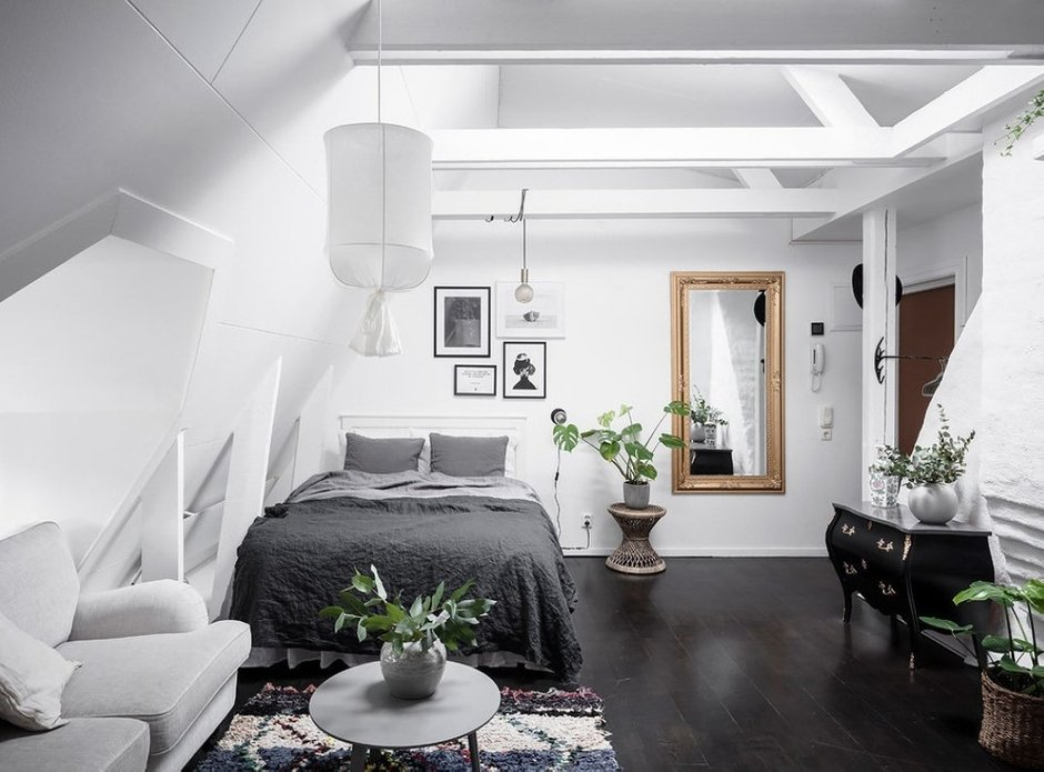 Фотография: Спальня в стиле Скандинавский, Швеция, Гид, скандинавский стиль в интерьере – фото на INMYROOM