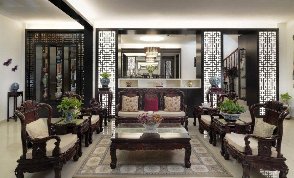 Фотография: Гостиная в стиле Классический, Современный, Восточный, Декор интерьера, Квартира – фото на INMYROOM